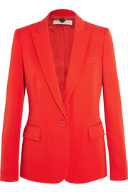 Stella McCartney Iris wool-crepe blazer