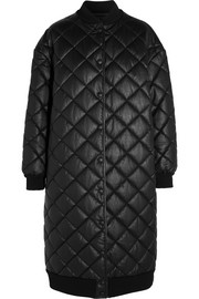 Stella McCartney Marisa quilted faux leather coat
