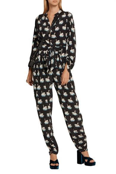 0762b411b8b85 Stella McCartney | Monia printed silk-crepe jumpsuit | NET-A-PORTER.COM