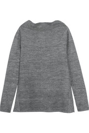 Stella McCartney Draped stretch-knit sweater
