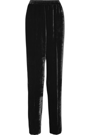 Stella McCartney Camilla velvet track pants
