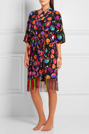 Matthew Williamson We Liming printed silk crepe de chine kimono