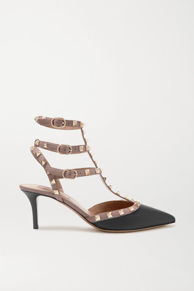 Valentino Pumps Valentino Garavani The Rockstud leather pumps