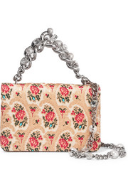Mogador floral-jacquard shoulder bag