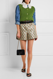 Miu Miu Cropped wool cardigan