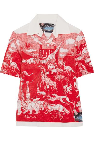 5d09d731b8 Printed cotton-poplin shirt
