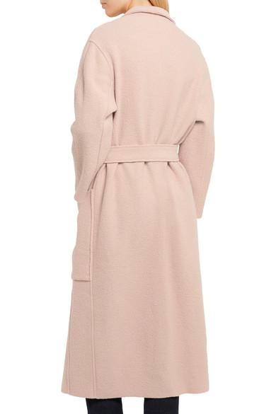 Maje | Boiled wool coat | NET-A-PORTER.COM