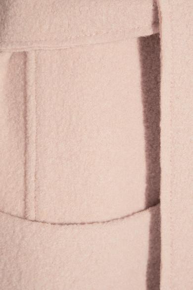 Maje   Boiled wool coat   NET-A-PORTER.COM