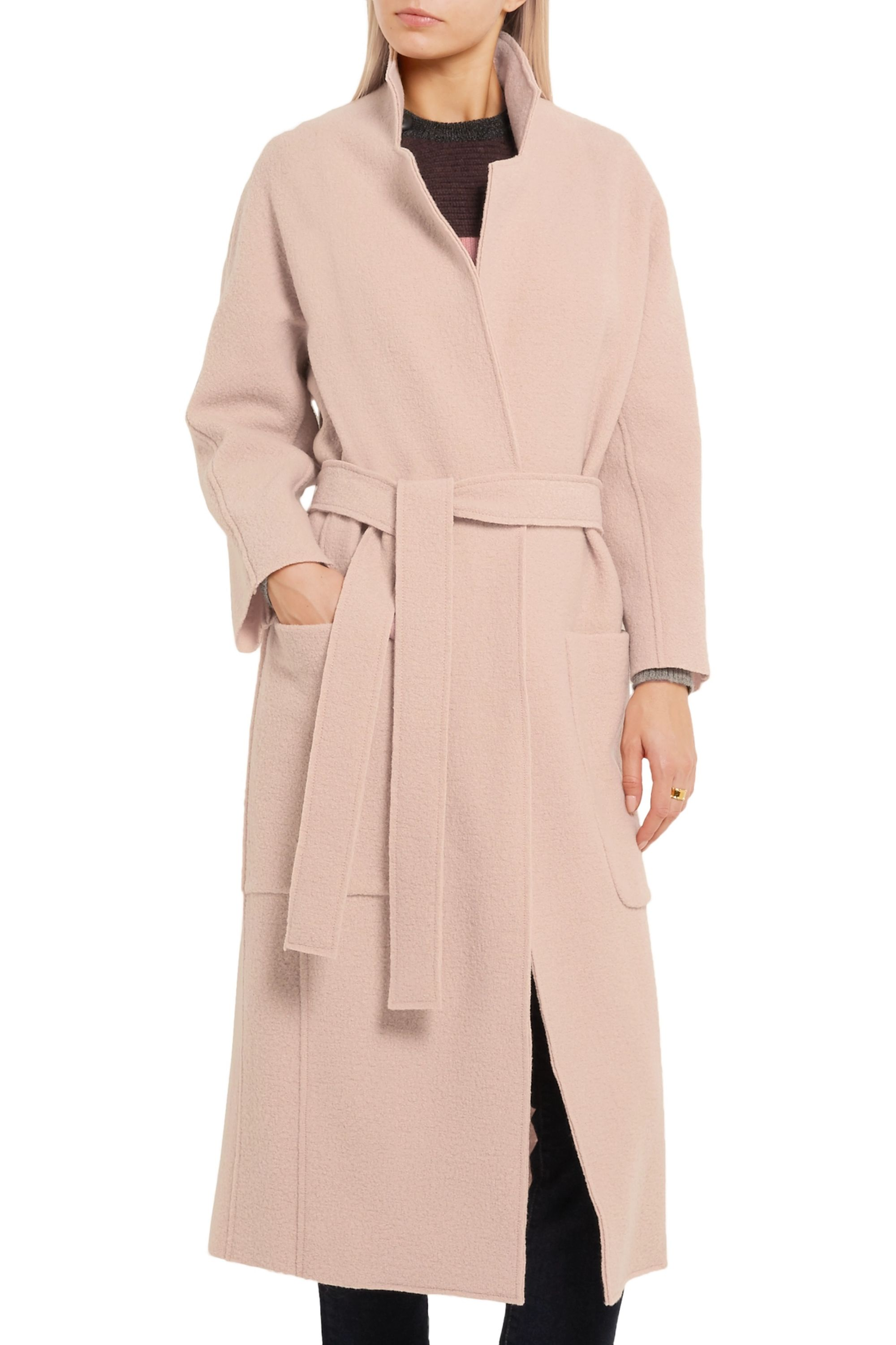 Maje Boiled wool coat