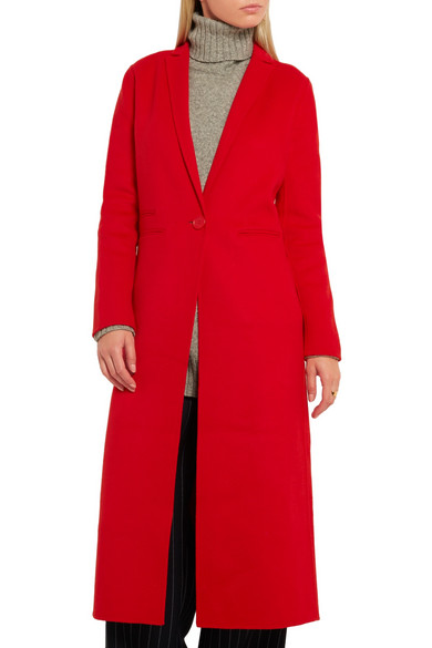 Maje | Wool-blend coat | NET-A-PORTER.COM
