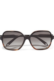 Iconic square-frame acetate sunglasses