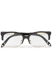 D-frame acetate and metal optical glasses