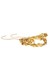 Lotus Petal gold-plated headband