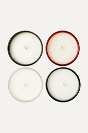 Elements set of four scented candles, 120g