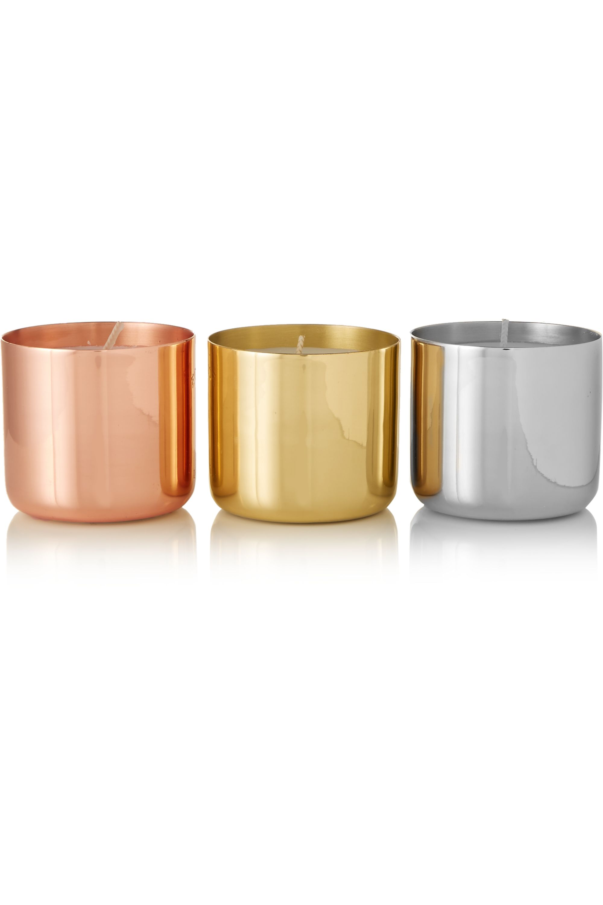 Tom Dixon London, Orientalist and Royalty set of three candles, 3 x 125g