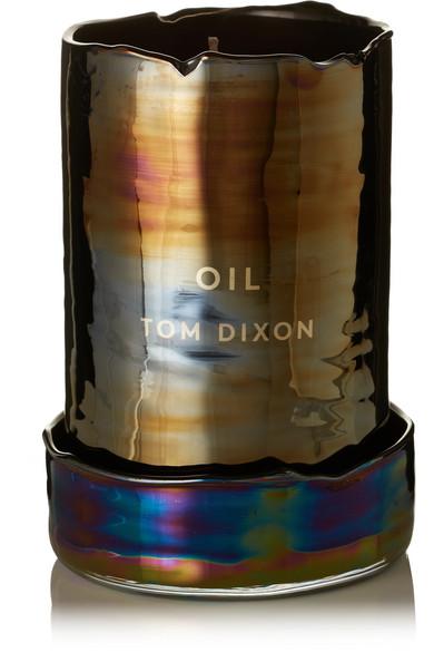 TOM DIXON Materialism Oil Candle, 540G in Metallic