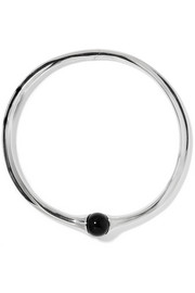 Vienna silver and onyx choker