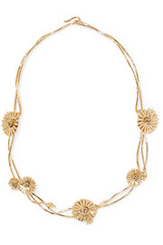 Aurélie Bidermann Athina gold-plated necklace