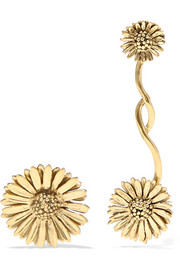 Athina gold-plated earrings