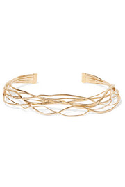 Aurélie Bidermann Ariane gold-plated choker