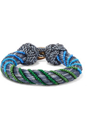 Maya braided beaded bracelet