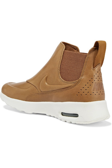 nike air max thea mid sneakers with leather modesens. Black Bedroom Furniture Sets. Home Design Ideas