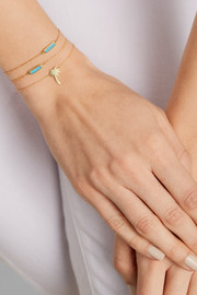 Jennifer Meyer Mini Palm Tree 18-karat gold bracelet