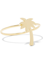 Jennifer Meyer Mini Palm Tree 18-karat gold ring