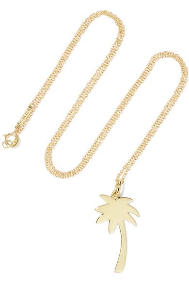 Jennifer Meyer - Large Palm Tree 18-karat Gold Necklace