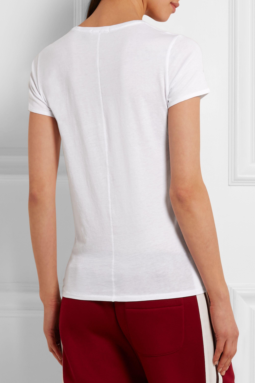 rag & bone Cotton-jersey T-shirt