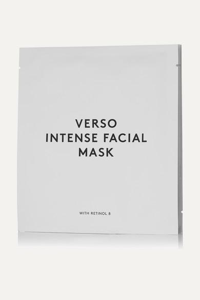 VERSO Intense Facial Mask, 4 X 25G - Colorless