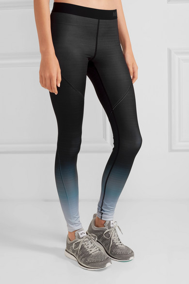b83e04691d958 Nike | Pro Hyperwarm ombré stretch-jersey leggings | NET-A-PORTER.COM