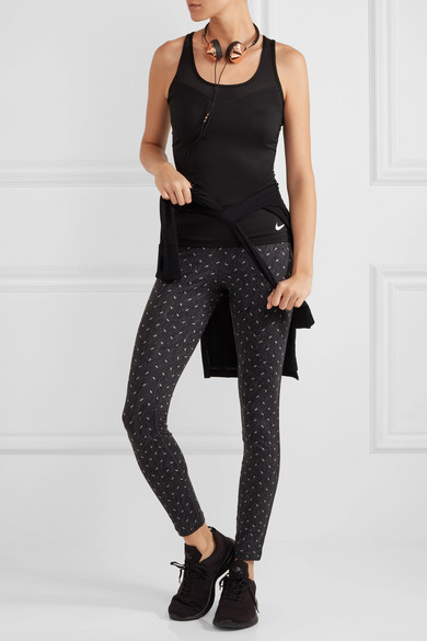 2187aef0838754 Nike | Power Epic Run printed stretch-jersey leggings | NET-A-PORTER.COM