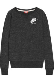 Nike Vintage cotton-blend jersey sweatshirt