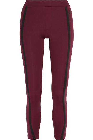 Nike - Stretch-jersey Leggings - Merlot