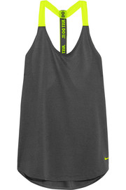 Nike Mesh-trimmed stretch-jersey tank