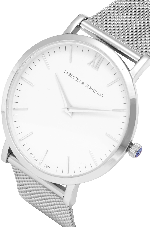 Larsson & Jennings Lugano silver-plated watch