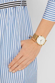 Lugano gold-plated watch