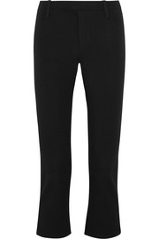 Splendid Daline cropped stretch-ponte flared pants