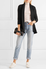 Splendid Sylvie ribbed-knit cardigan