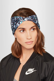 Live The Process Printed stretch-Supplex headband