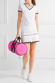 Monreal London Warrior PVC-trimmed quilted scuba bag