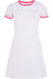 Club stretch-jersey and mesh tennis dress