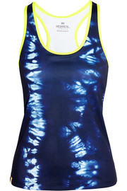 Monreal London Essential printed stretch-jersey tank