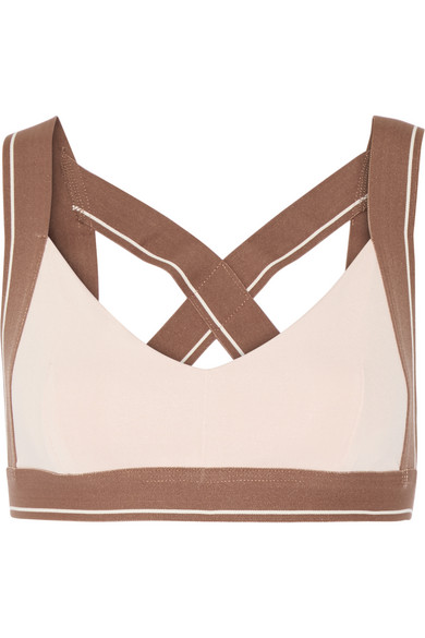 olympia activewear female 243279 olympia activewear x stretchjersey sports bra pastel pink