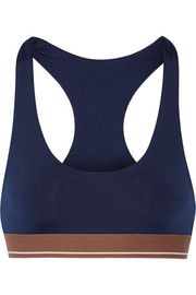 Alta stretch-jersey sports bra