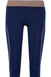 Silo cropped stretch-jersey leggings