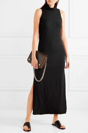 Splendid Luxe stretch Micro Modal and cashmere-blend maxi dress