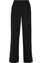 Splendid Luxe washed-silk wide-leg pants
