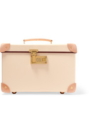 Safari 13'' leather-trimmed fiberboard vanity case